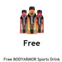 Fred Meyer/QFC/Kroger Download: FREE BodyArmor Sports Drink (12/30 only)!