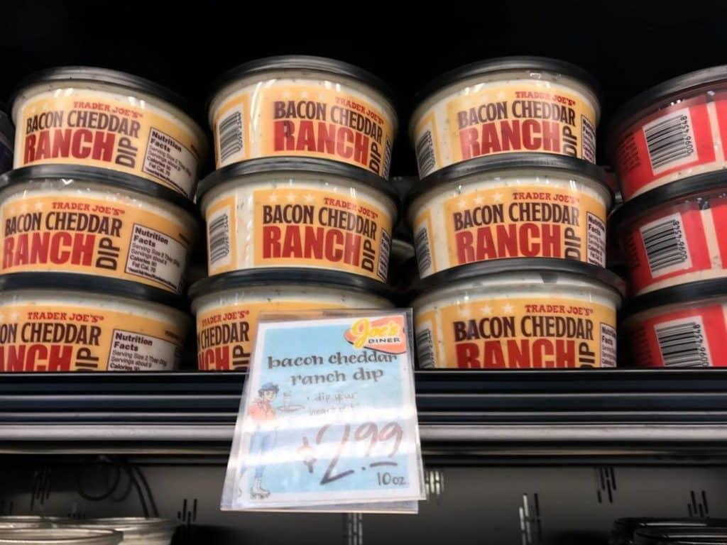 Bacon Cheddar Ranch Dip at Trader Joe's