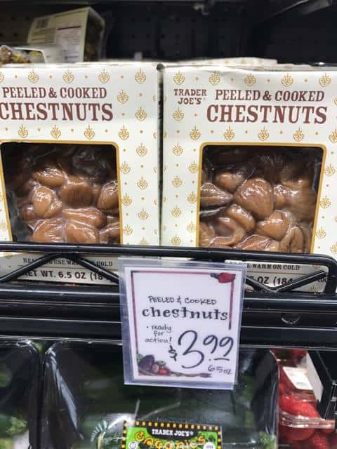 Peeled and Cooked Chestnuts