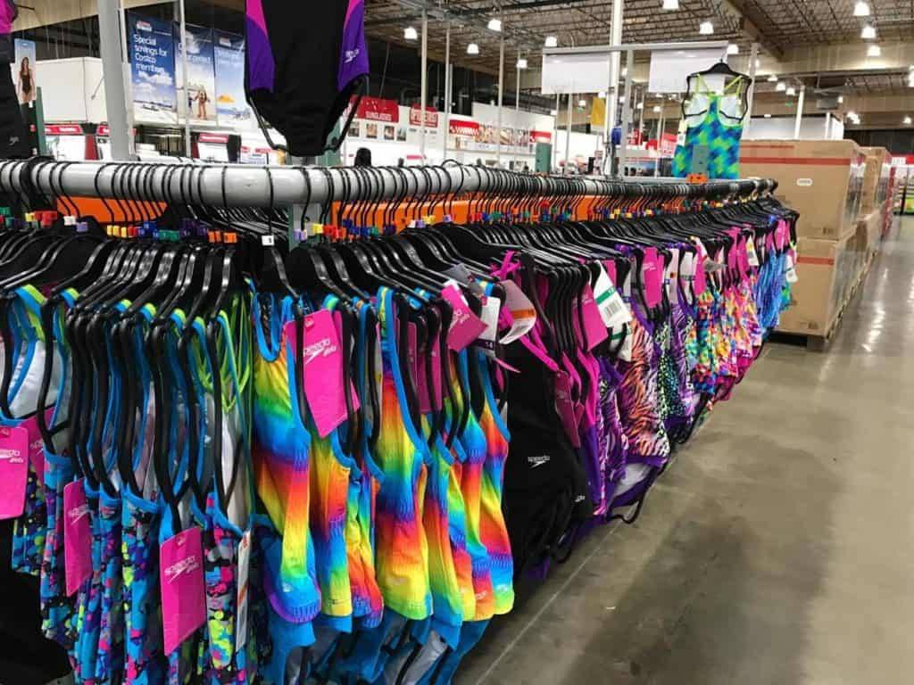 Swimsuits at Costco