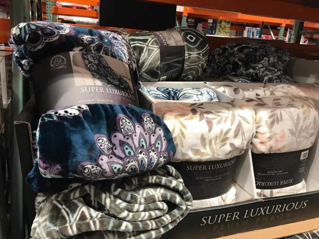 Soft Throws at Costco