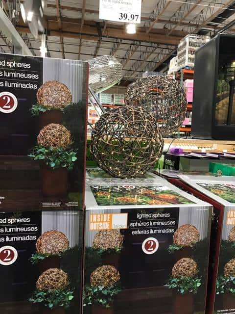 Light Up Spheres at Costco