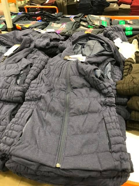 Vest at Costco