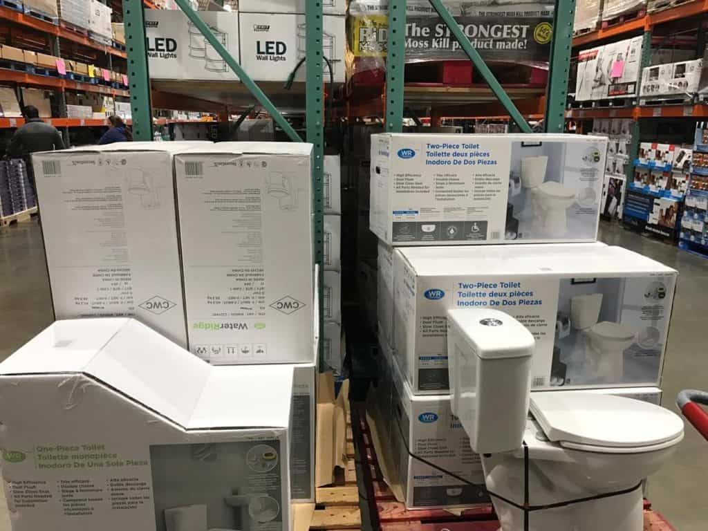 Toilets at Costco