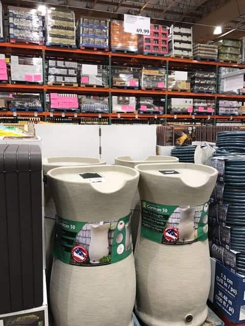 Rain Barrel at Costco
