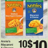Annie's Printable Coupons – Mac & Cheese $0.50/box at Fred Meyer + savings at Target!