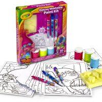 Crayola Trolls Deluxe Washable Paint Kit, $7.53!