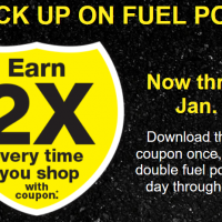 Fred Meyer: 2X Fuel Points through Jan 31