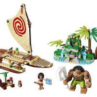 LEGO Disney Moana's Ocean Voyage Set, $27.99 (30% off)