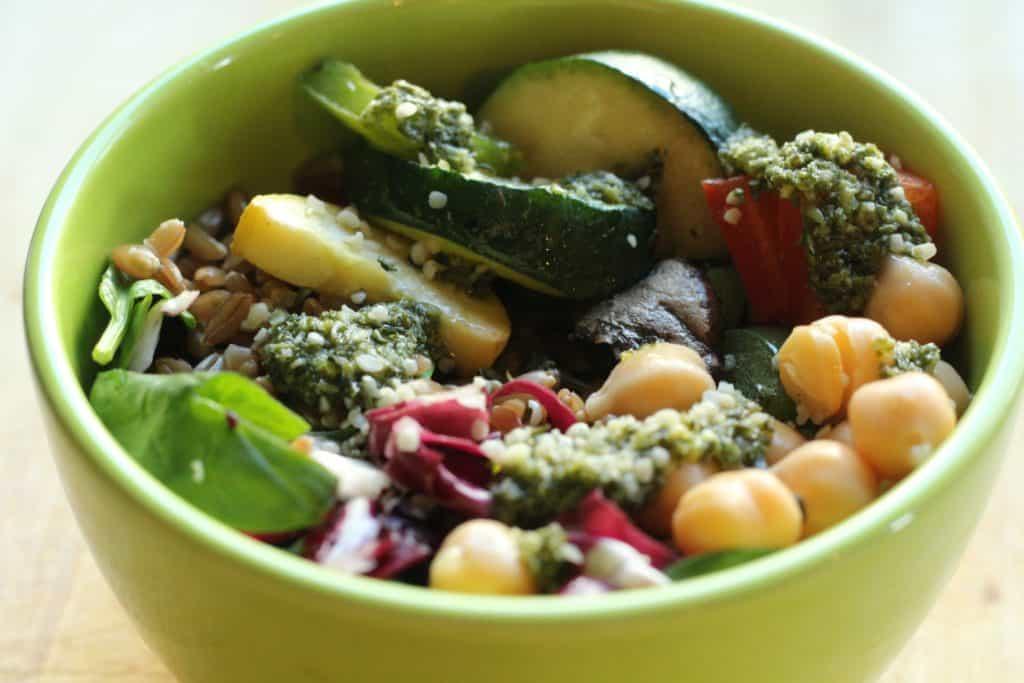Vegan Power Lunch Bowl