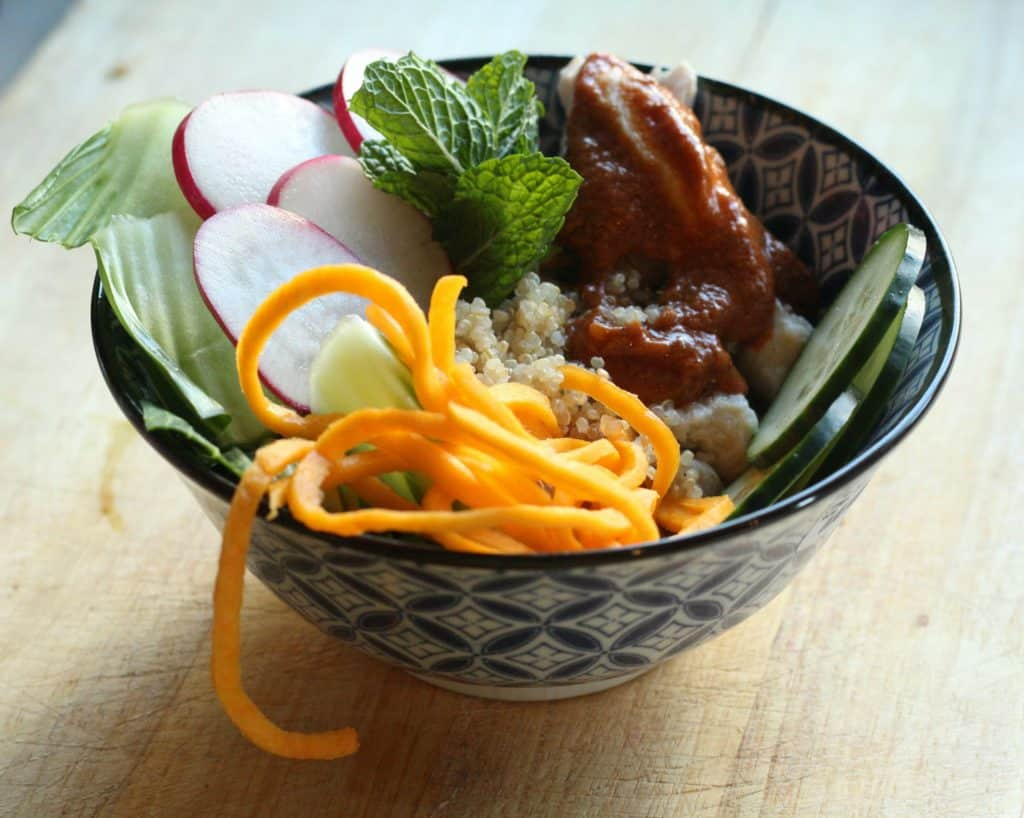 Asian Inspired Lunch Bowl