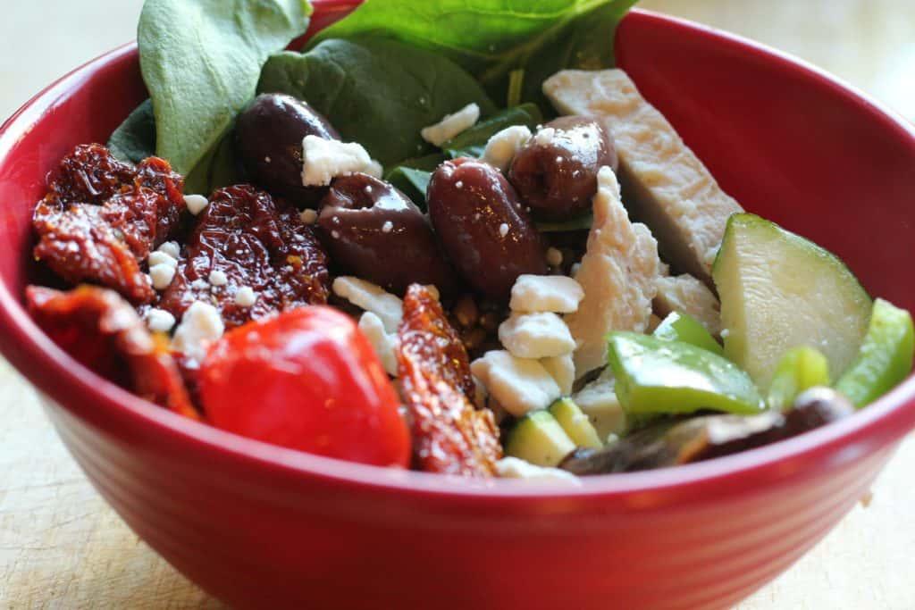 Greek Inspired Lunch Bowl