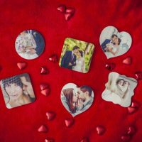 Custom Wooden Photo Magnets as low as $3.50 each + FREE shipping!