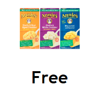 Fred Meyer/QFC/Kroger Download: FREE Annie's Mac & Cheese (exp. 1/20)
