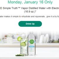 Main & Vine Flash Sale 1/16: FREE Vapor Distilled Water