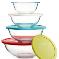 Macy's Big Home Sale: 8- and 10-Piece Pyrex Glass Sets for $14.99 (reg. $39.99)