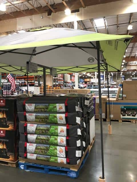 Canopies at Costco