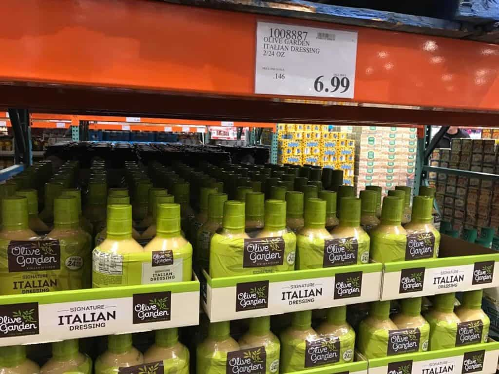 Olive Garden Italian Dressing, 2 pack at Costco