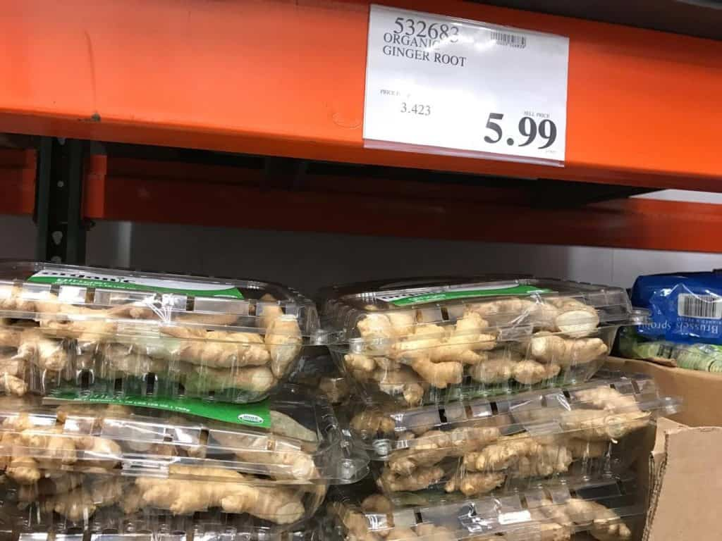 Organic Ginger Root at Costco