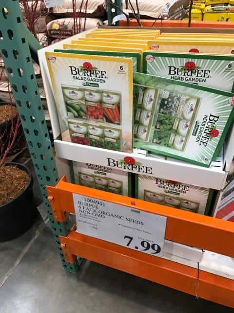Burpee Seeds at Costco