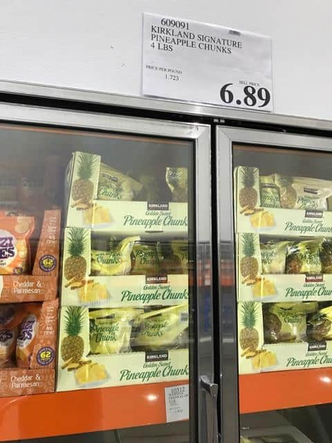Frozen Pineapple Chunks at Costco