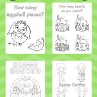 Fun Easter Activity Book {FREE Printable!}