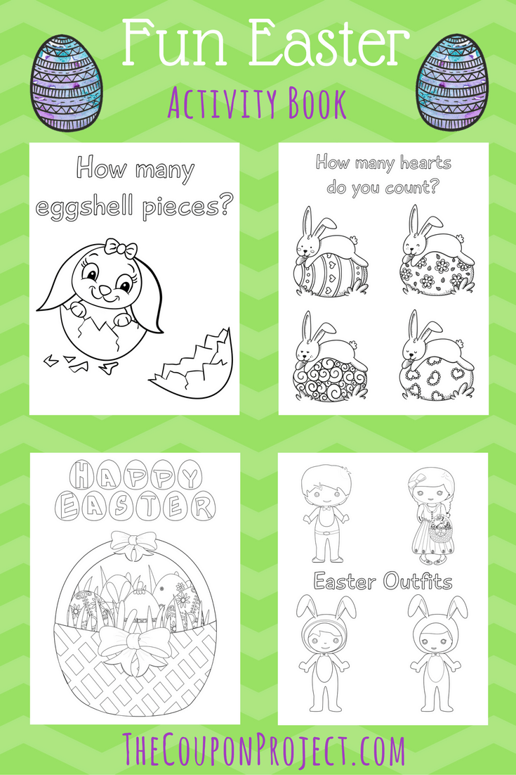 picture regarding Easter Printable referred to as Enjoyable Easter Match E book Totally free Printable! - The Coupon Task