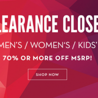 6pm Clearance Closet Sale: Save up to 70%, plus free shipping with 2+ item purchase