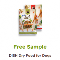 Free Sample DISH Dry Food for Dogs (Rachael Ray)