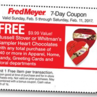 Fred Meyer: FREE Russell Stover Box of Candy with $40 Select Store Purchase