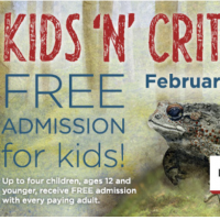 Northwest Trek: FREE Admission for Kids, 2/18 – 2/20