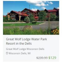 Great Wolf Lodge on Groupon – as low as $189/night for a Family Suite + possible $50 dining credit!