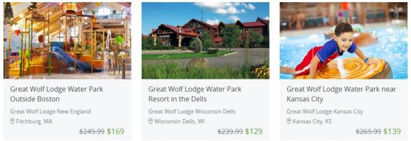Great Wolf Lodge features multiple seasonal promotions, suite and waterpark packages, savings on multi-day stays, waterpark lunch plans, and a variety of other high value online coupons. Great Wolf Lodge frequently features group discounts. The renowned children's birthday party package includes time in the birthday space, a sheet cake, one pizza for every five people with drinks, and.