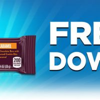 Fred Meyer/QFC/Kroger Download: FREE Hershey's Cookie Layer Crunch Caramel Bar Ecoupon (2/10 only)