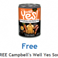 Fred Meyer/QFC/Kroger Download: FREE Campbell's Well Yes Soup Ecoupon (2/3 only)