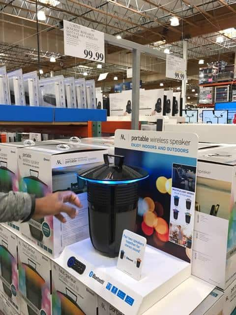 Portable Wireless Speaker at Costco