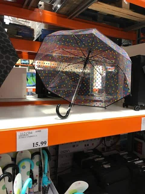 Bubble Umbrella at Costco