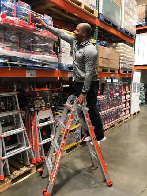 Ladder at Costco