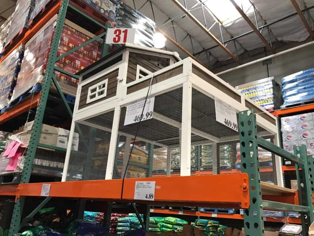 Chicken Coop at Costco