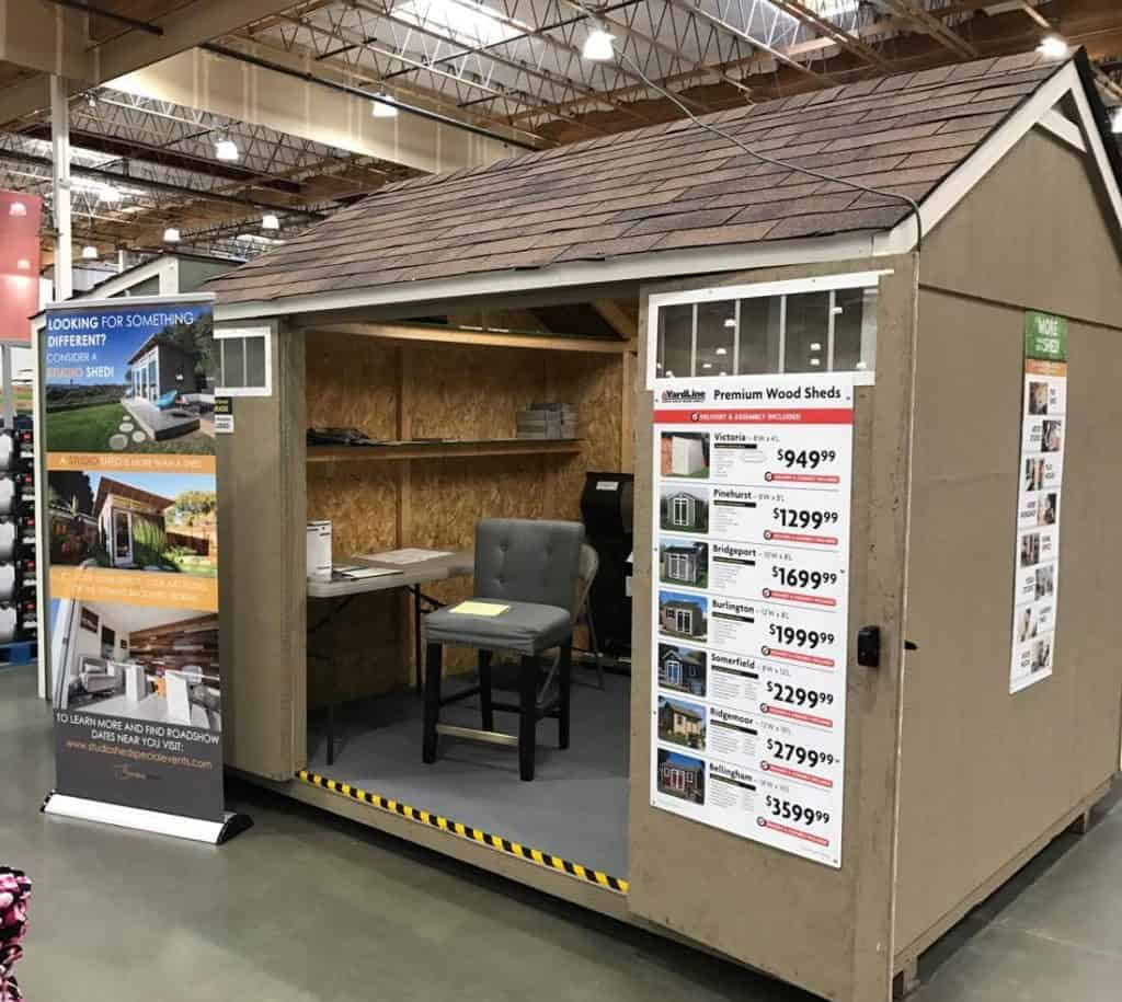 Shed at Costco
