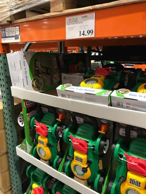 Toy Lawnmower at Costco