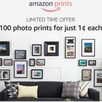 Amazon: 100 4×6 Photo Prints for $1!