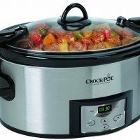 Crock-Pot 6-Quart Programmable Slow Cooker, $34.30 (lowest price ever!)