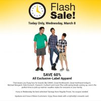 Fred Meyer Flash Sale: Save 60% on Private-Label Apparel (3/8 only)