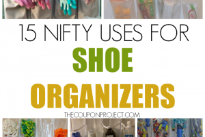 15 Nifty Uses for Shoe Organizers
