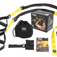 I LOVE my new TRX Training System (Easy setup for at-home strength workout)