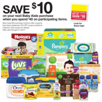 Fred Meyer: Spend $40 on Baby Aisle, Earn $10 Coupon
