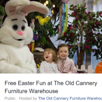 The Old Cannery Warehouse: FREE Easter Event (April 15th)