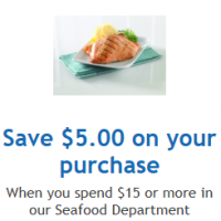 QFC: Save $5 on $15 or More of Seafood Digital Coupon