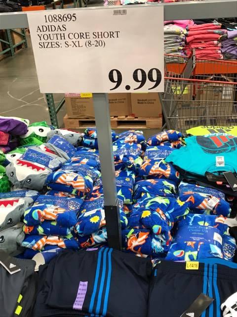 Adidas Shorts at Costco